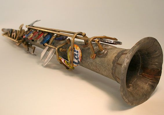 recycle saxofoon