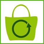 open clipart eco green shopping
